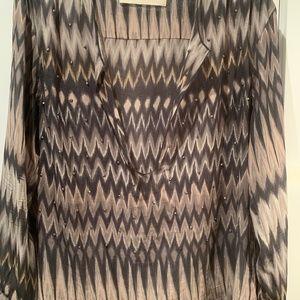 Graham & Spencer Silk Tunic Top